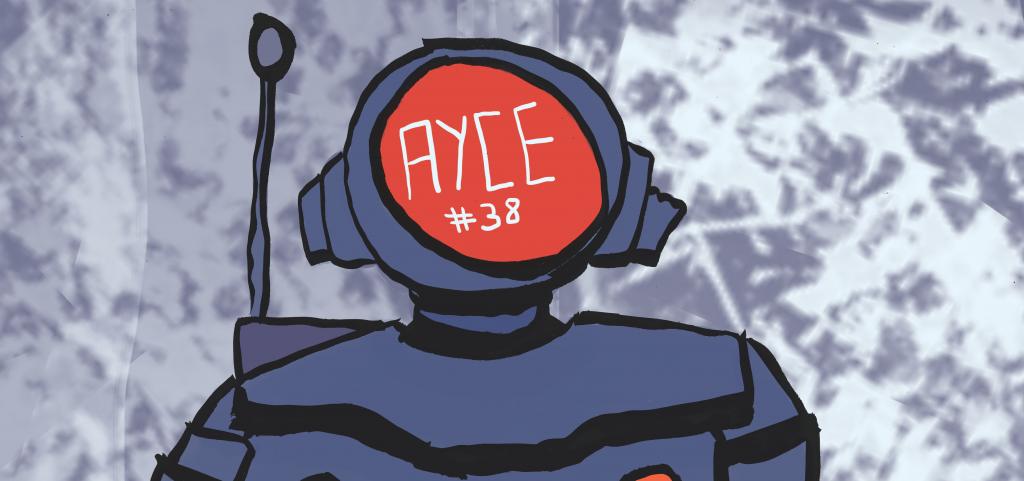 AYCE #38 robot head